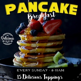 Pancake Breakfast Video Advert Template