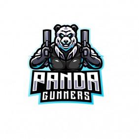 panda logos template