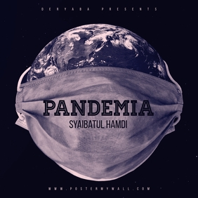 Pandemia Planet CD Cover Template
