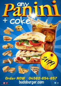 Panini menu Poster