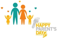 Parent Day Label template