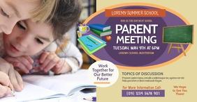 Parent Meeting Facebook Shared Image