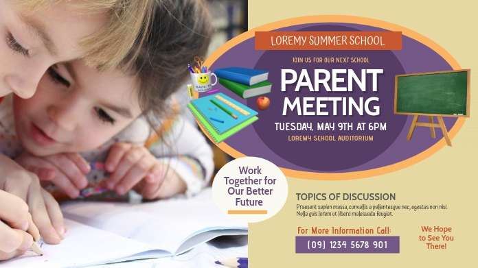 Parent Meeting Twitter Post