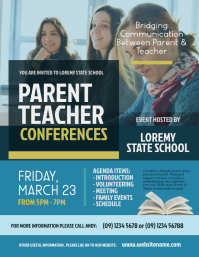 Parent Teacher Conferences Flyer
