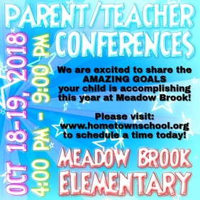 Parent/Teacher Conferences Social Media Video