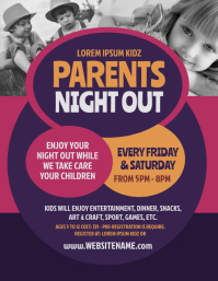 Parents Night Out Flyer