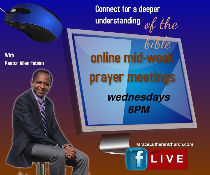 park & praise/midweek service/online bible Большой прямоугольник template
