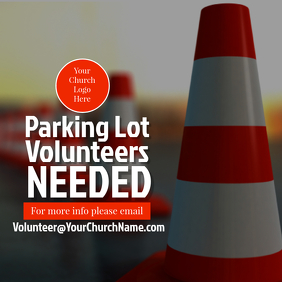 Parking Lot Volunteer Promo
