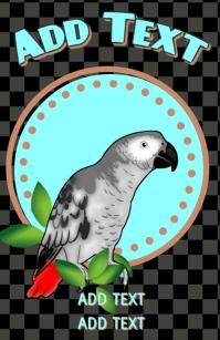 parrot african grey pet bird