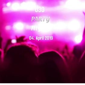 party Ü30 color licht video tanzen