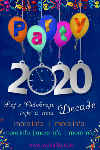 Party 2020 Poster