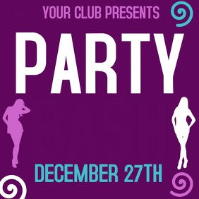 PARTY BASH AD TEMPLATE