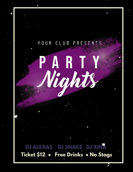 Party Club Flyer