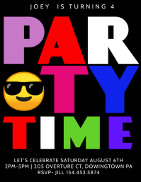 party Flyer (US Letter) template