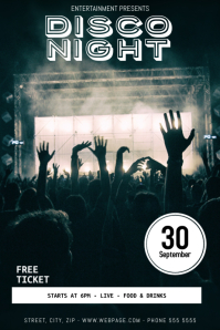 Party Flyer Templates   PosterMyWall