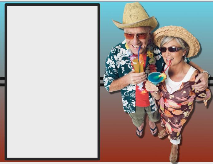 Party Drinks Seniors Flyer