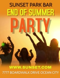 PARTY END OF SUMMER PARTY BAR