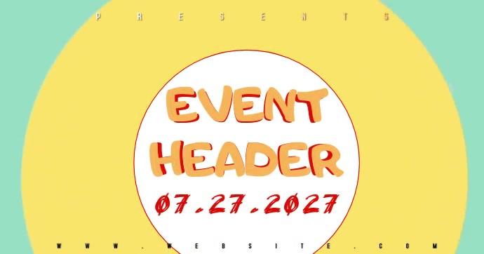 PARTY EVENT AD SOCIAL MEDIA TEMPLATE Gambar Bersama Facebook