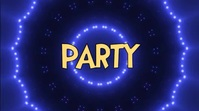 Party Event Backdrop Digitalt display (16:9) template