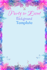Party Event Background Template