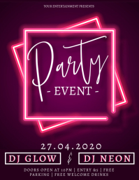 Party Event Design Template