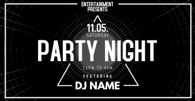 Party Event Flyer