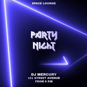 PARTY FLIER TEMPLATE