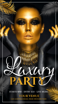 party flyer, girls party, club night party