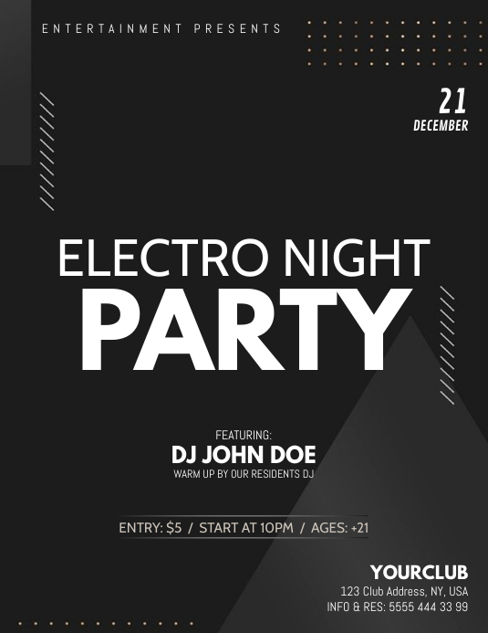Party Flyer