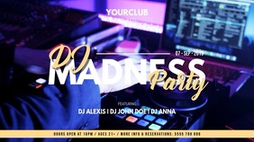 Party Flyer Umbukiso Wedijithali (16:9) template