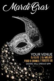 party flyer templates,mardi gras templates,event flyers