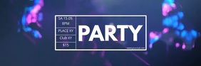 Party Header Concert Live Music Event Banner template