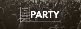 Party Header Concert Live Music Event Banner