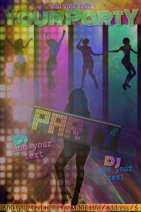 Party Mardi Gras Club Dance Ladies Girl Women