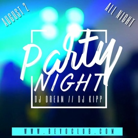 Party Night Club Event Video Template