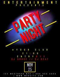 PARTY NIGHT EVENT FLYER TEMPLATE VIDEO