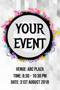 Party / Night Events Poster Template
