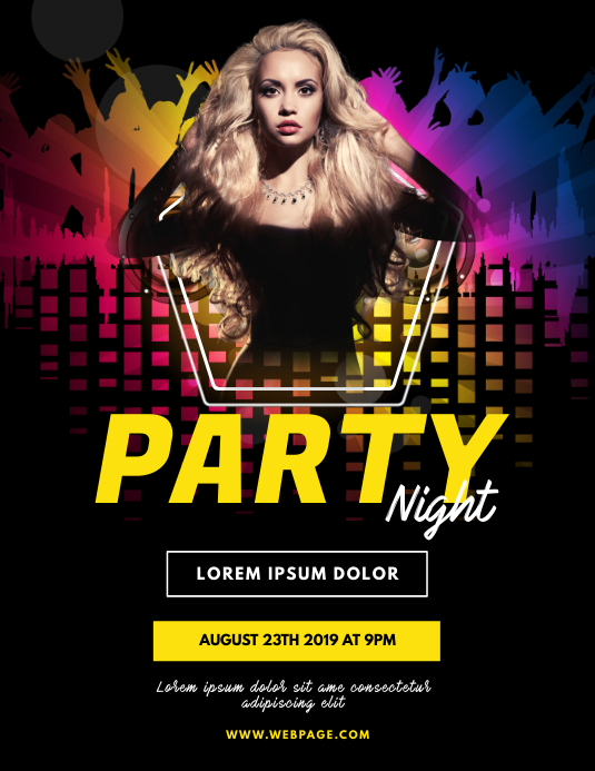 Party night Flyer Template