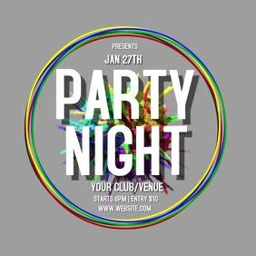 PARTY NIGHT TEMPLATE