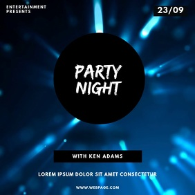 Party Night Video Template