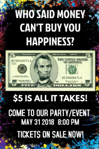 Party or Event Flyer Template