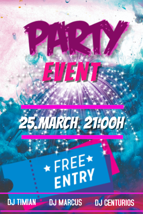 Party template | PosterMyWall