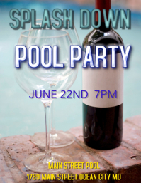 party summer pool party