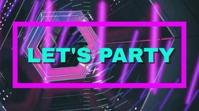 Party template Digital Display (16:9)