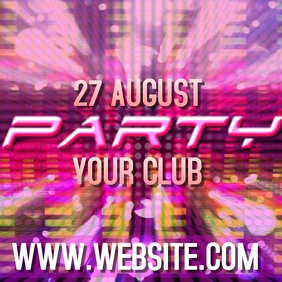 PARTY VIDEO AD