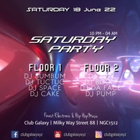 Party Video Floors Club Bar Disco Promo Ad