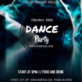 party video flyer template