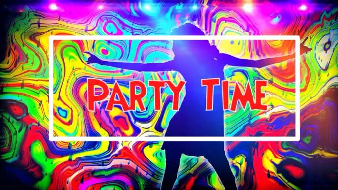 Party video praphics
