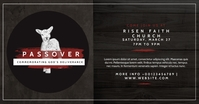 passover church invitation Facebook Shared Image template