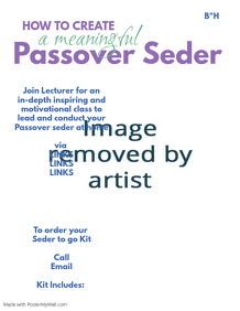 Passover Seder at home